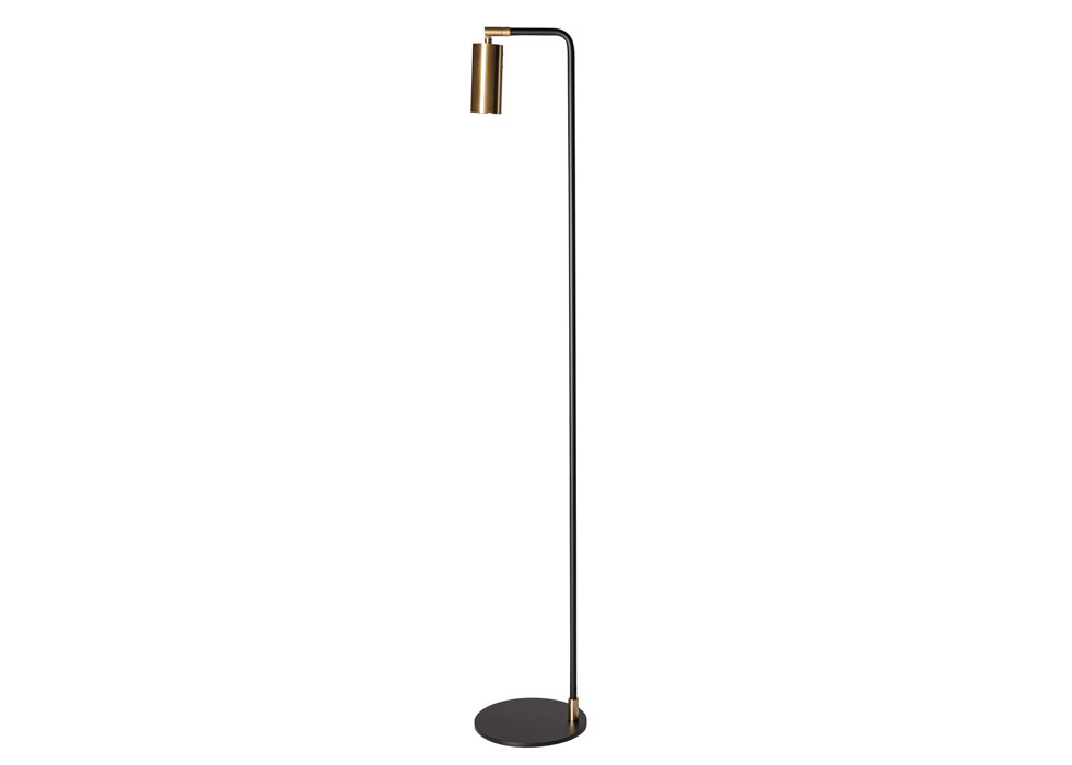 Lektor Floor | Black/Brass