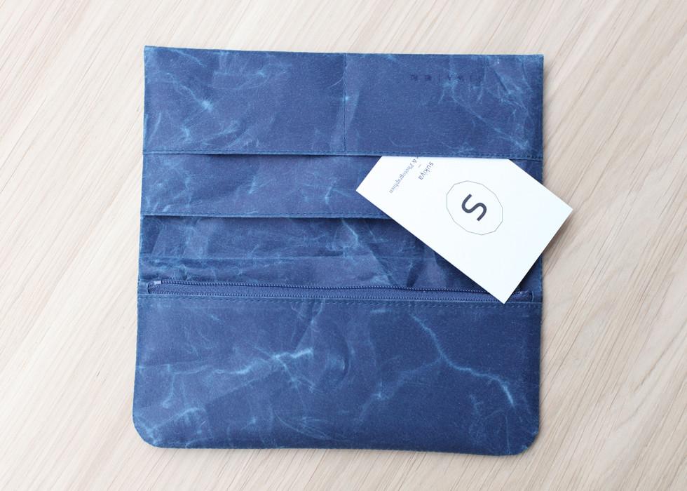 Siwa Long Wallett | Dark Blue