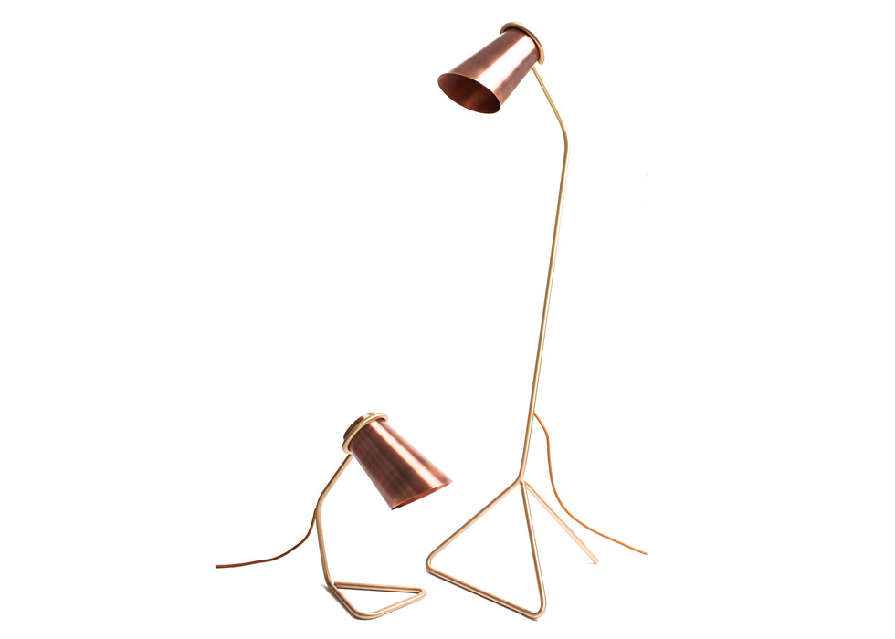 Strand Lamp big | copper