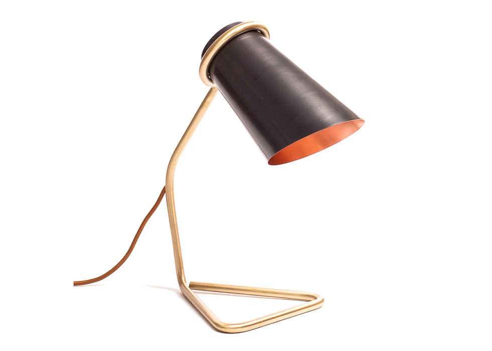Strand Lamp small | brass